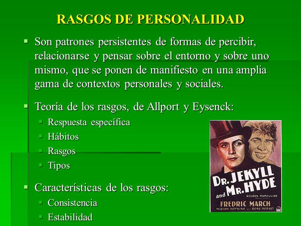 RASGOS DE PERSONALIDAD