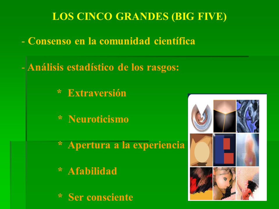 LOS CINCO GRANDES (BIG FIVE)