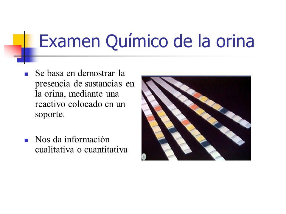 Examen Químico de la orina