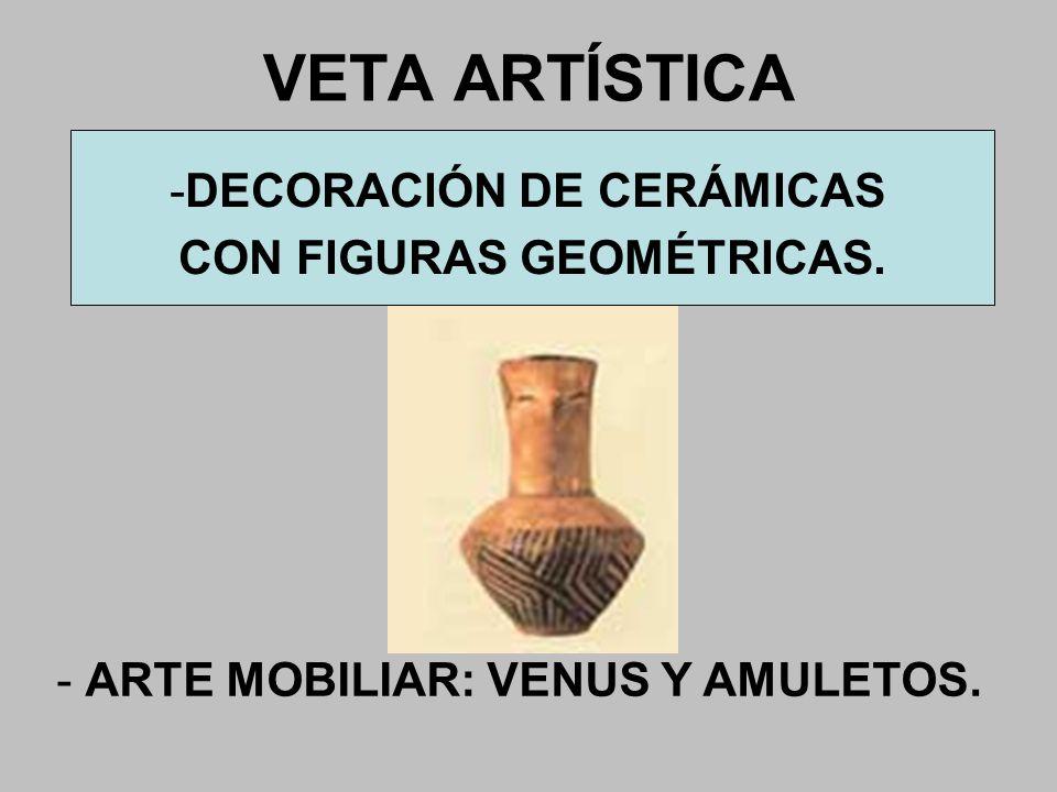 DECORACIÓN DE CERÁMICAS CON FIGURAS GEOMÉTRICAS.