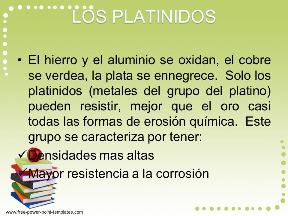 LOS PLATINIDOS