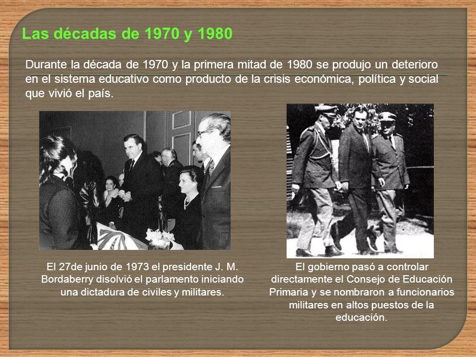 Las décadas de 1970 y 1980