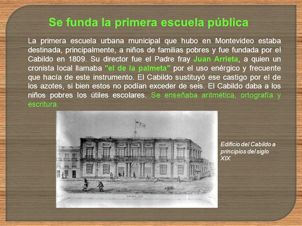 Se funda la primera escuela pública