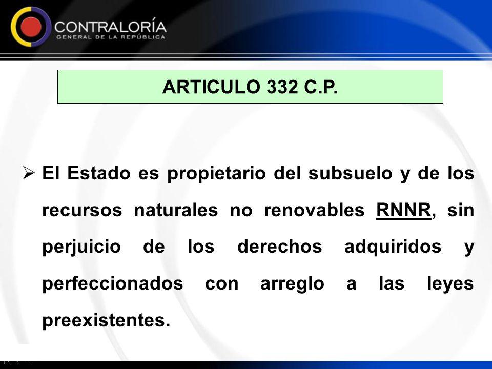 ARTICULO 332 C.P.