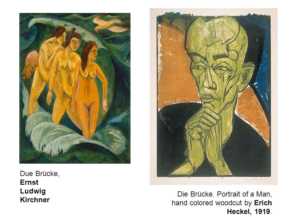 Due Brücke, Ernst Ludwig Kirchner