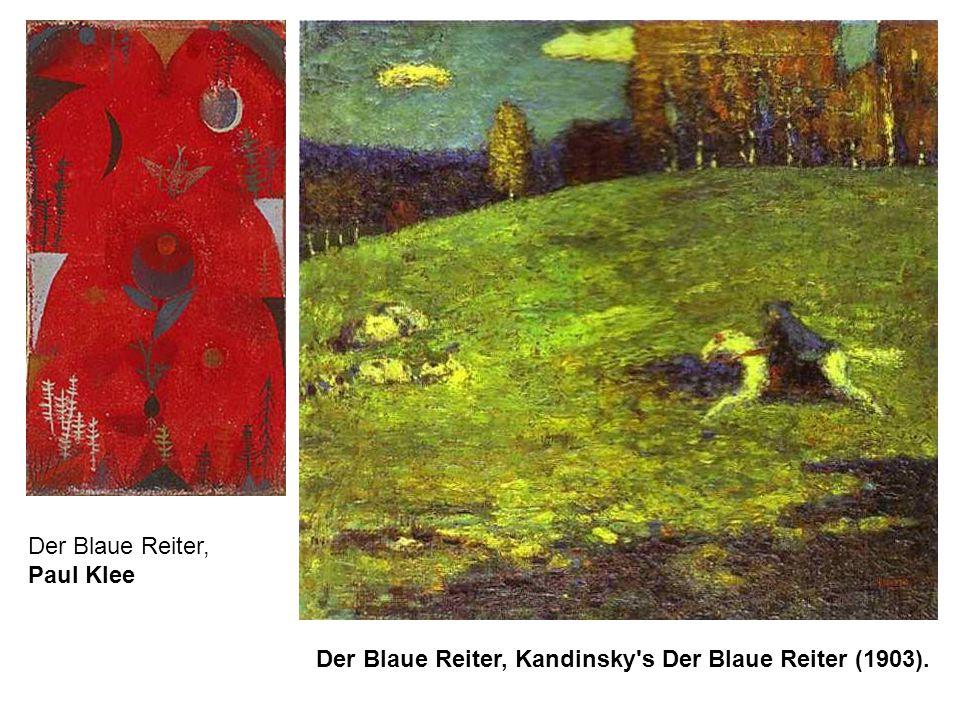 Der Blaue Reiter, Paul Klee