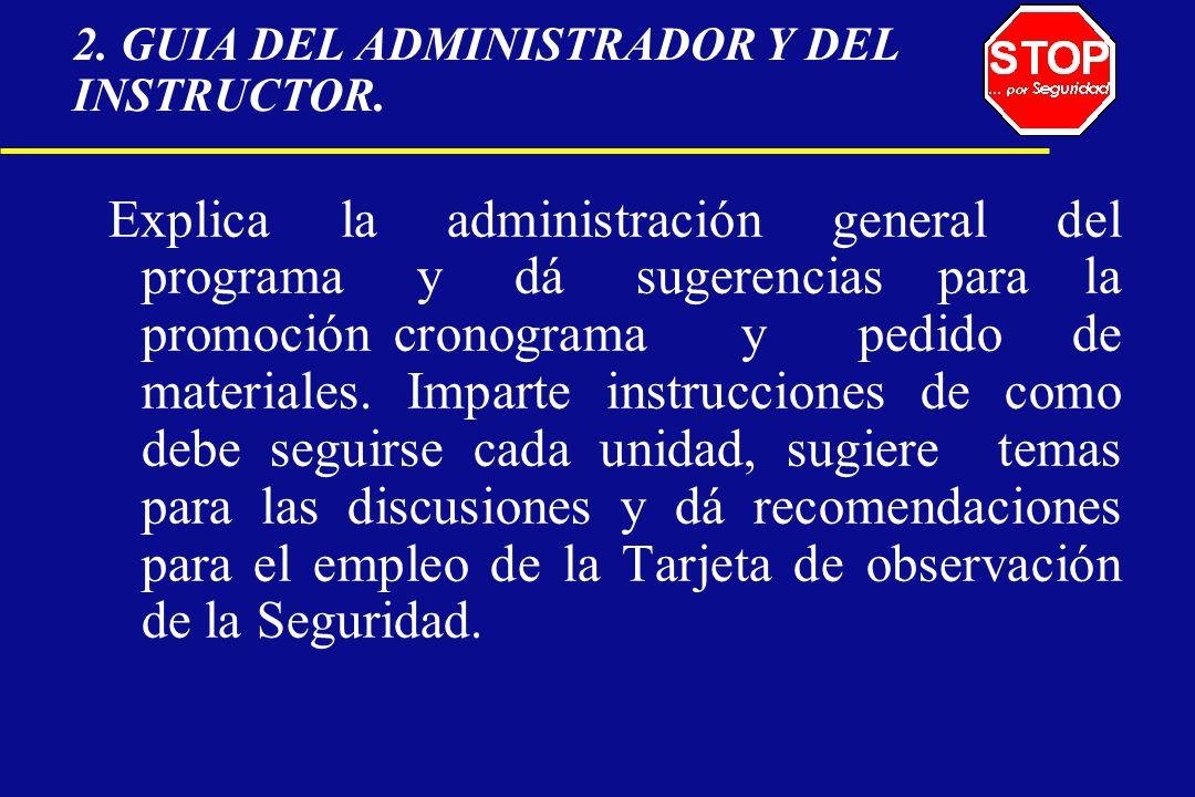 2. GUIA DEL ADMINISTRADOR Y DEL INSTRUCTOR.