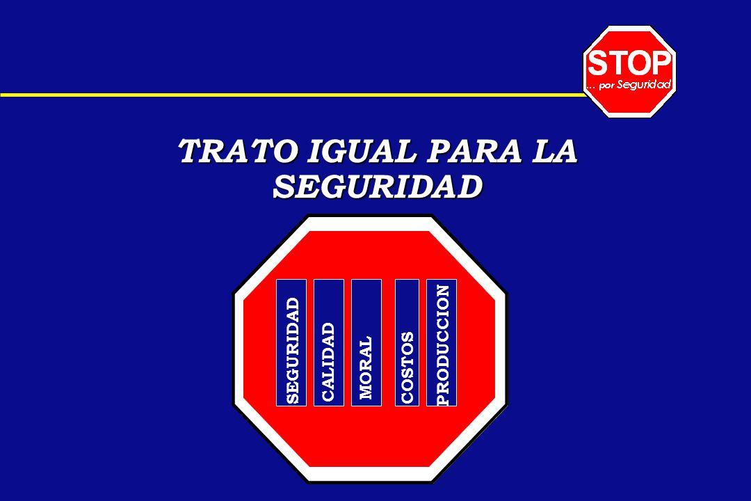 TRATO IGUAL PARA LA SEGURIDAD