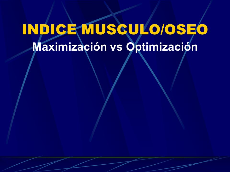 Maximización vs Optimización