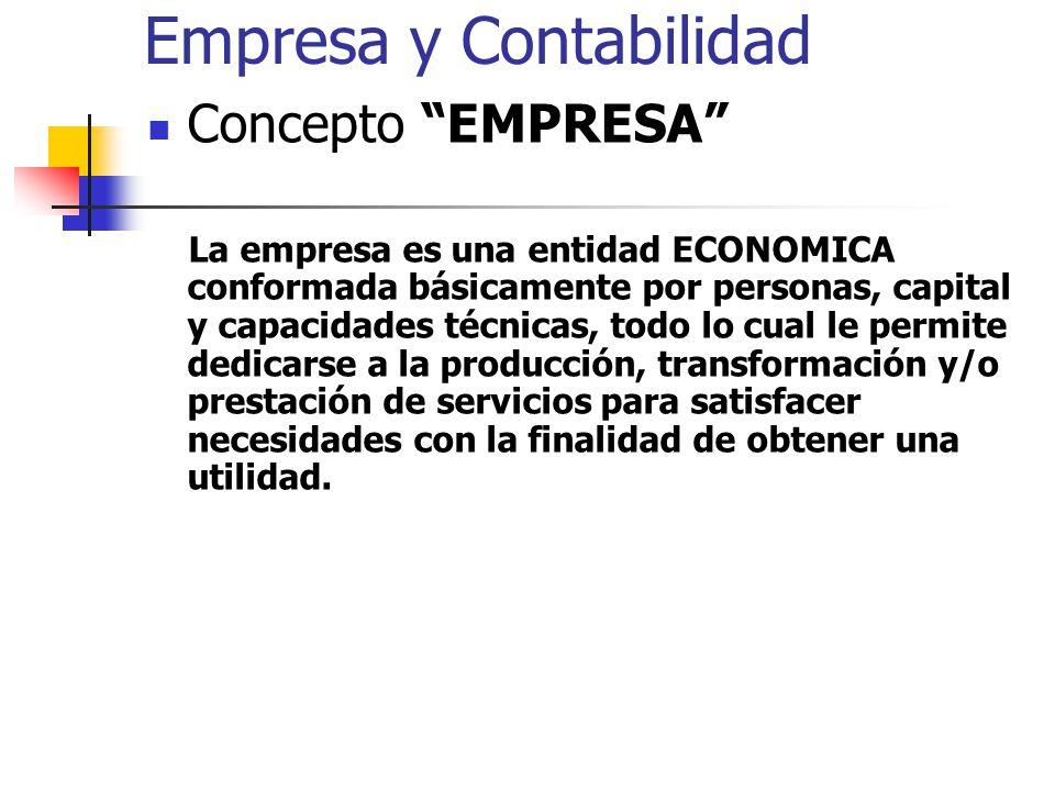 Empresa y Contabilidad
