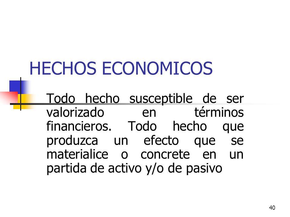 HECHOS ECONOMICOS