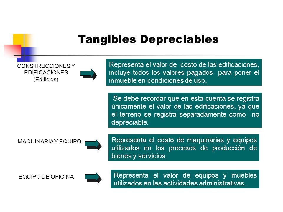 Tangibles Depreciables
