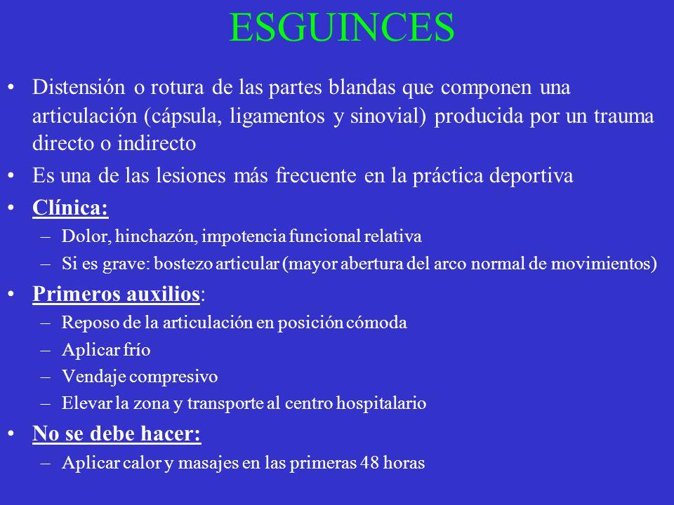 ESGUINCES