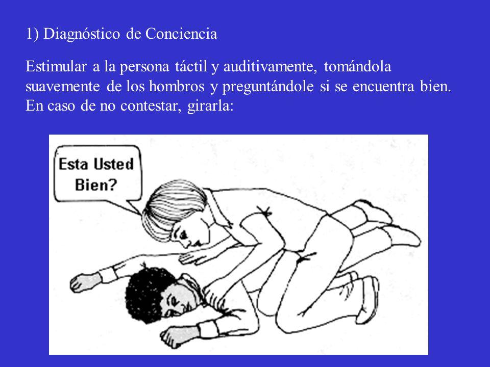 1) Diagnóstico de Conciencia