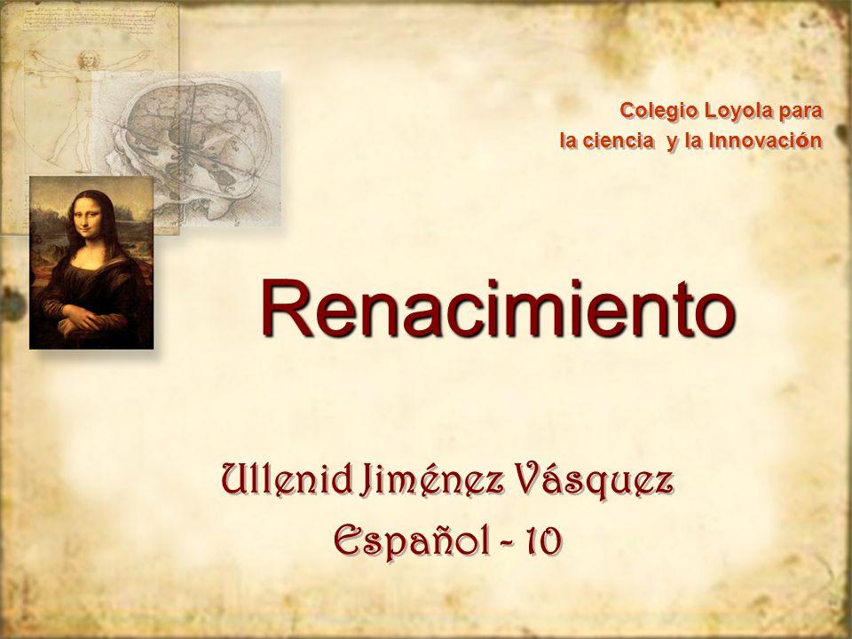 Ullenid Jiménez Vásquez Español - 10