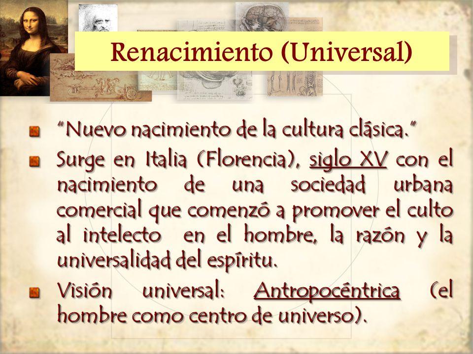 Renacimiento (Universal)
