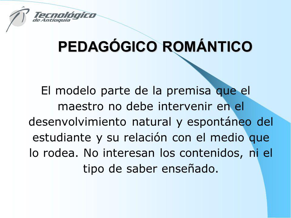 PEDAGÓGICO ROMÁNTICO