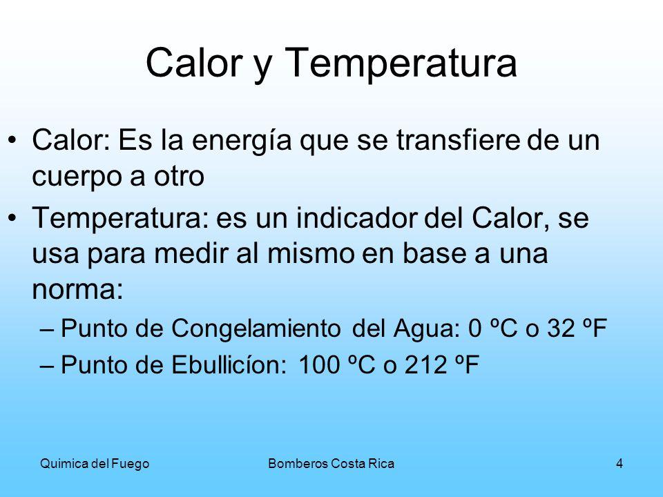 Calor y Temperatura Calor: Es la energía que se transfiere de un cuerpo a otro.