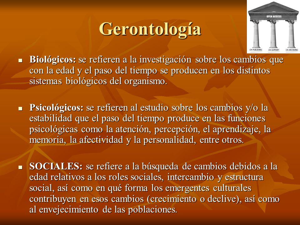 Gerontología