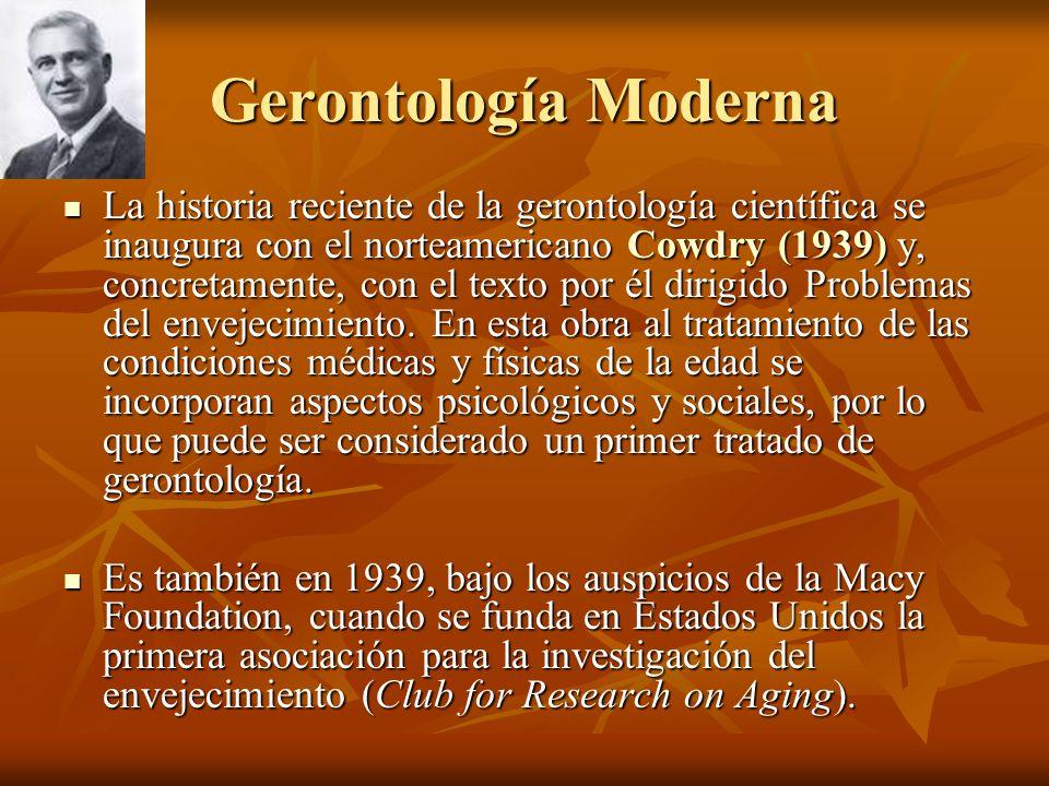 Gerontología Moderna
