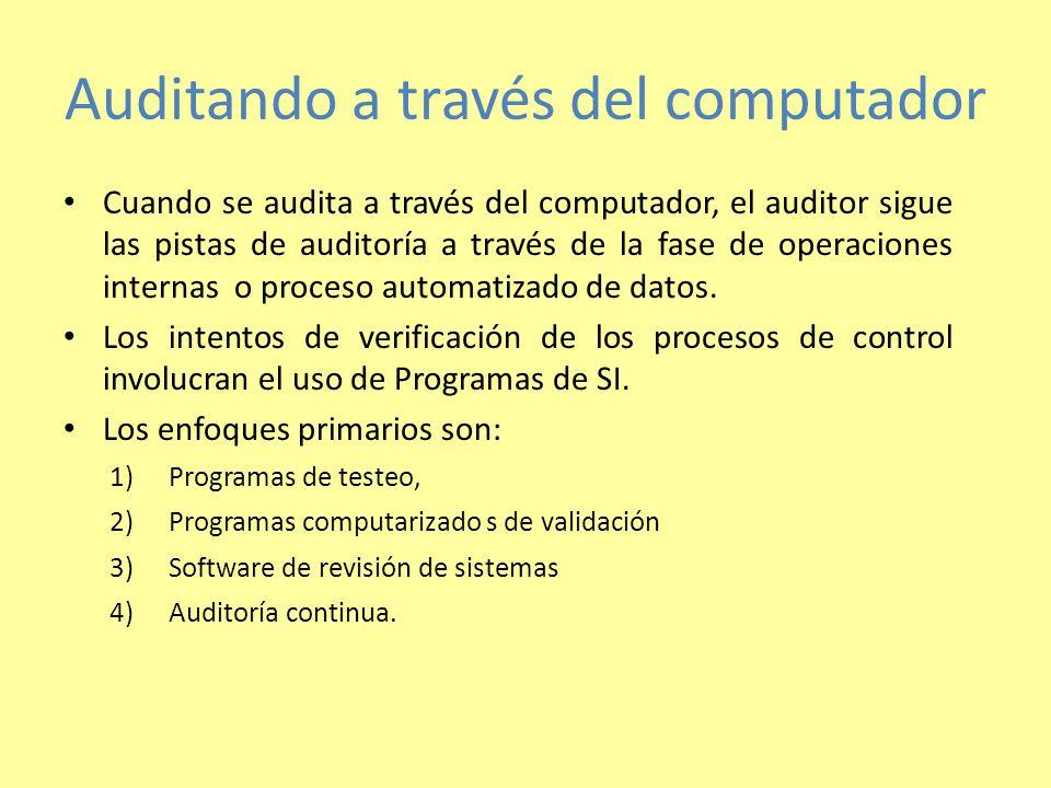Auditando a través del computador