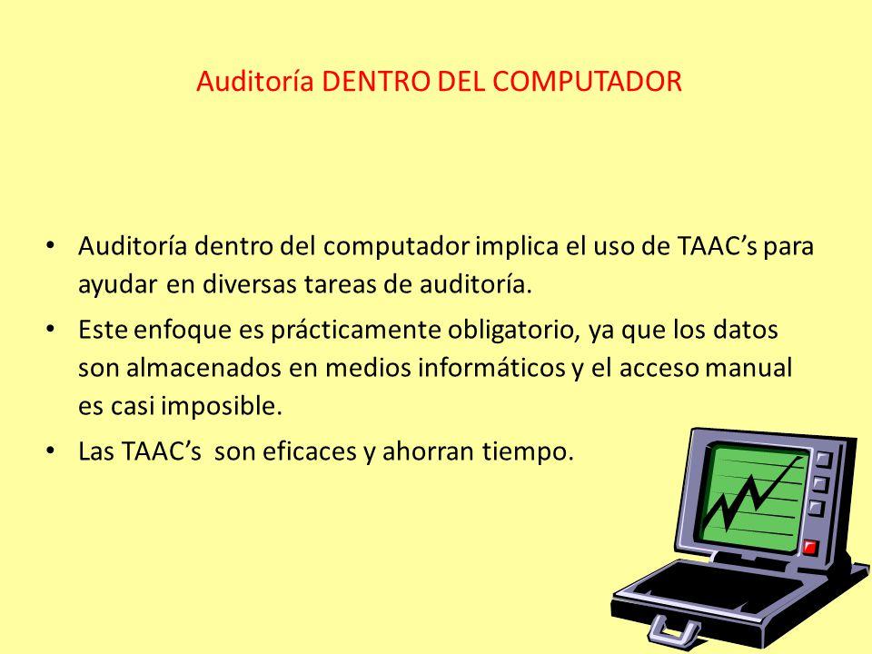 Auditoría DENTRO DEL COMPUTADOR