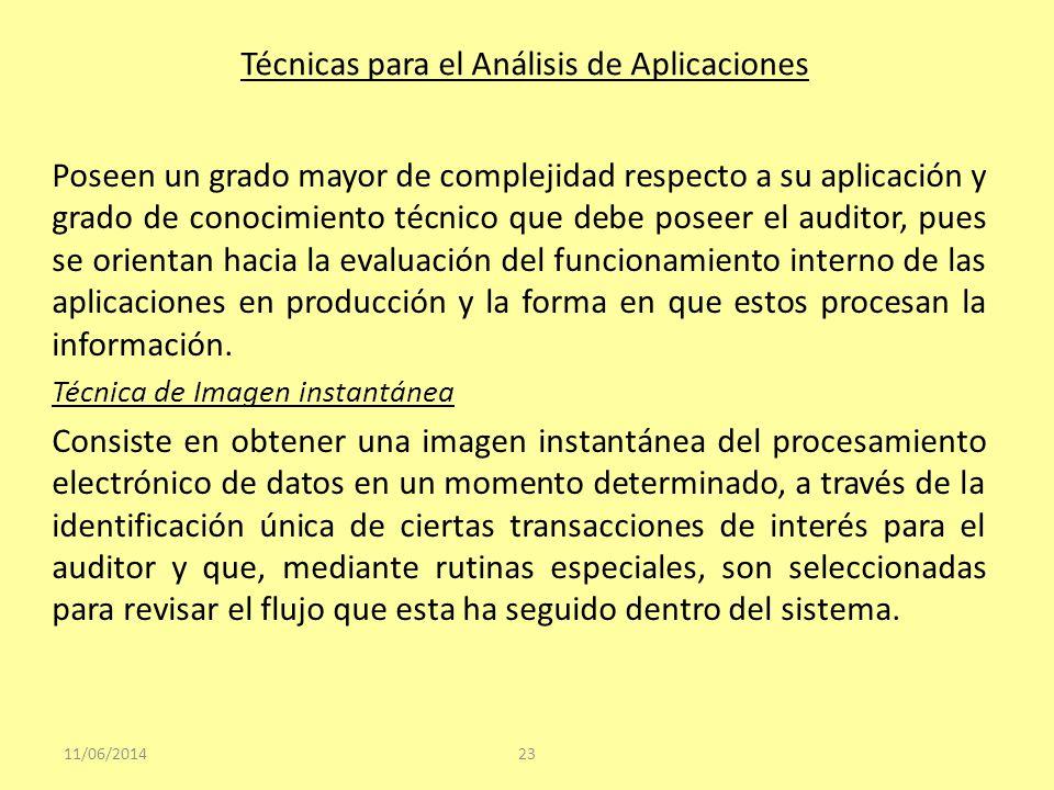 Técnicas para el Análisis de Aplicaciones