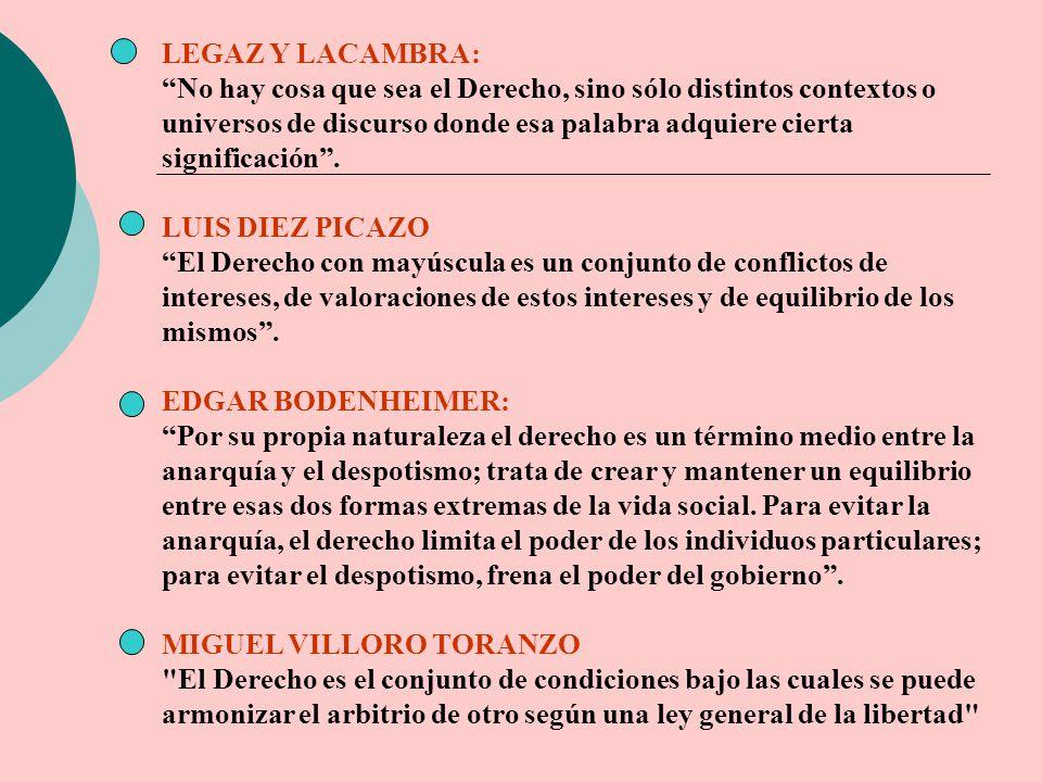 LEGAZ Y LACAMBRA: