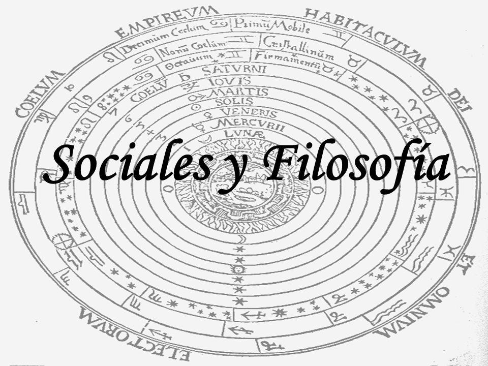 Sociales y Filosofía