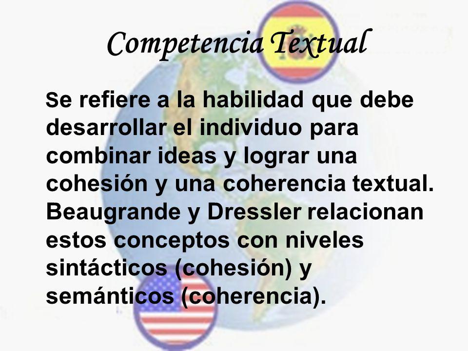 Competencia Textual