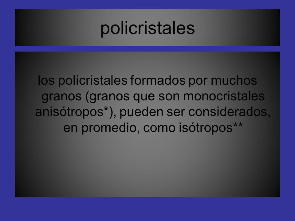 policristales