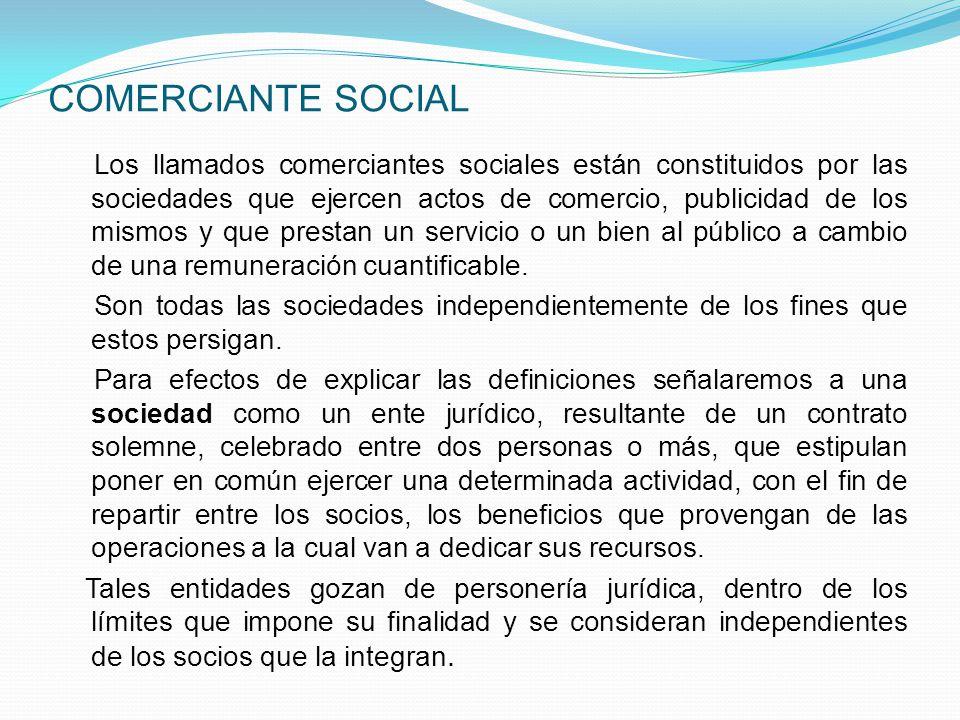COMERCIANTE SOCIAL