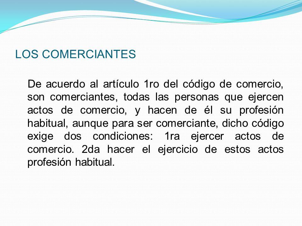 LOS COMERCIANTES