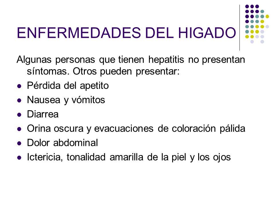 ENFERMEDADES DEL HIGADO