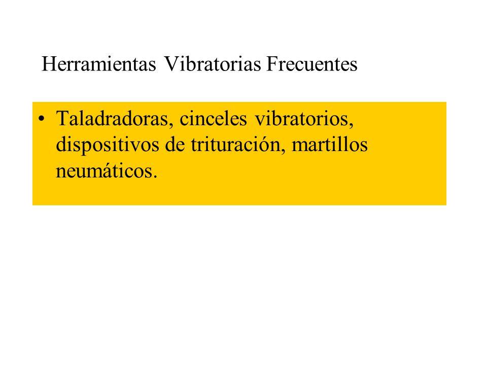 Herramientas Vibratorias Frecuentes