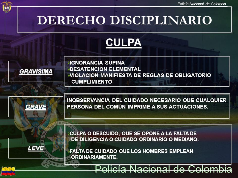 DERECHO DISCIPLINARIO