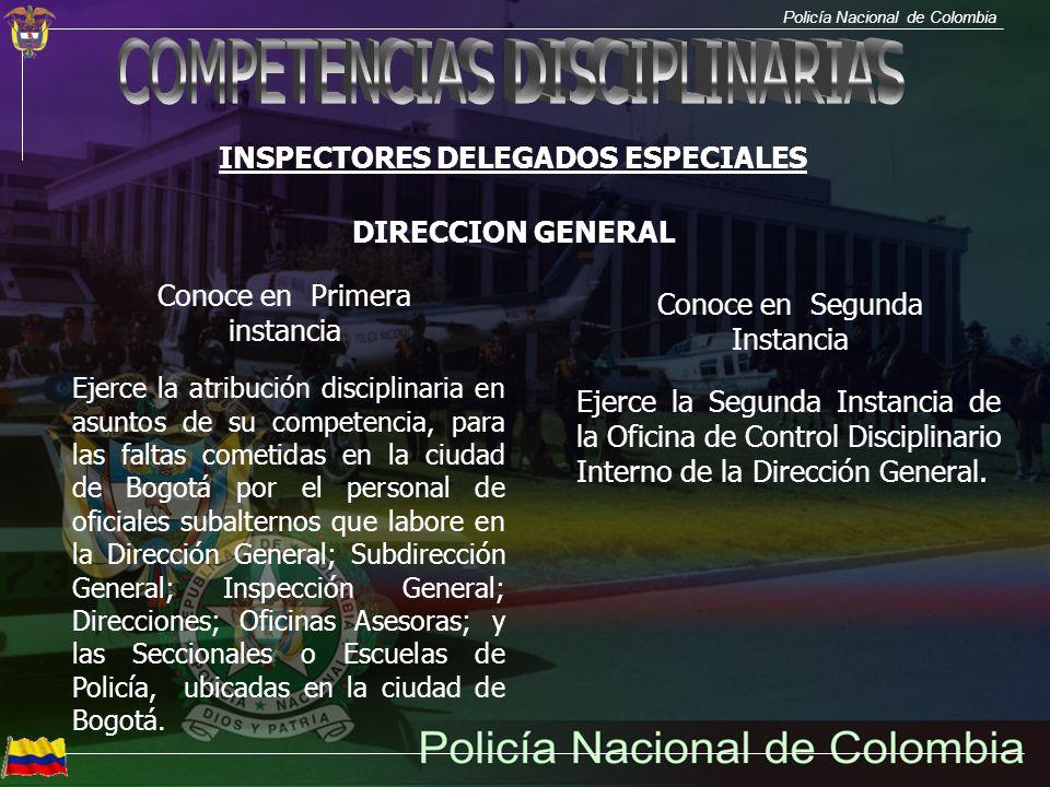 INSPECTORES DELEGADOS ESPECIALES