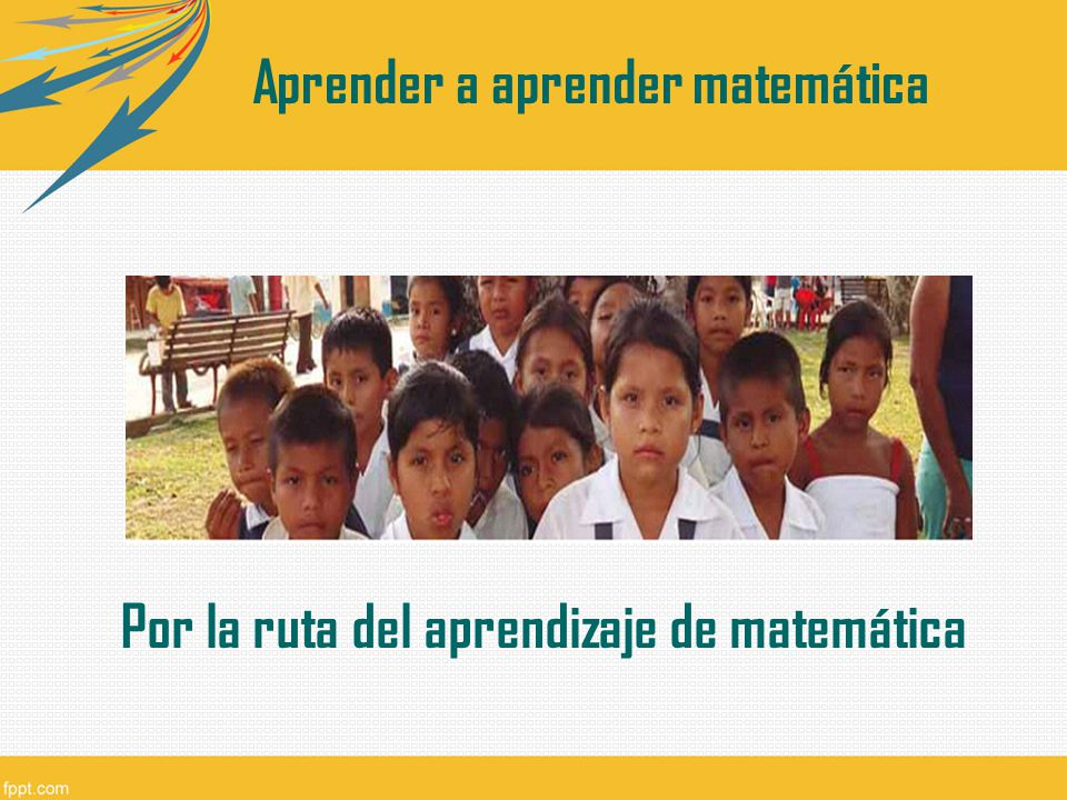 Aprender a aprender matemática