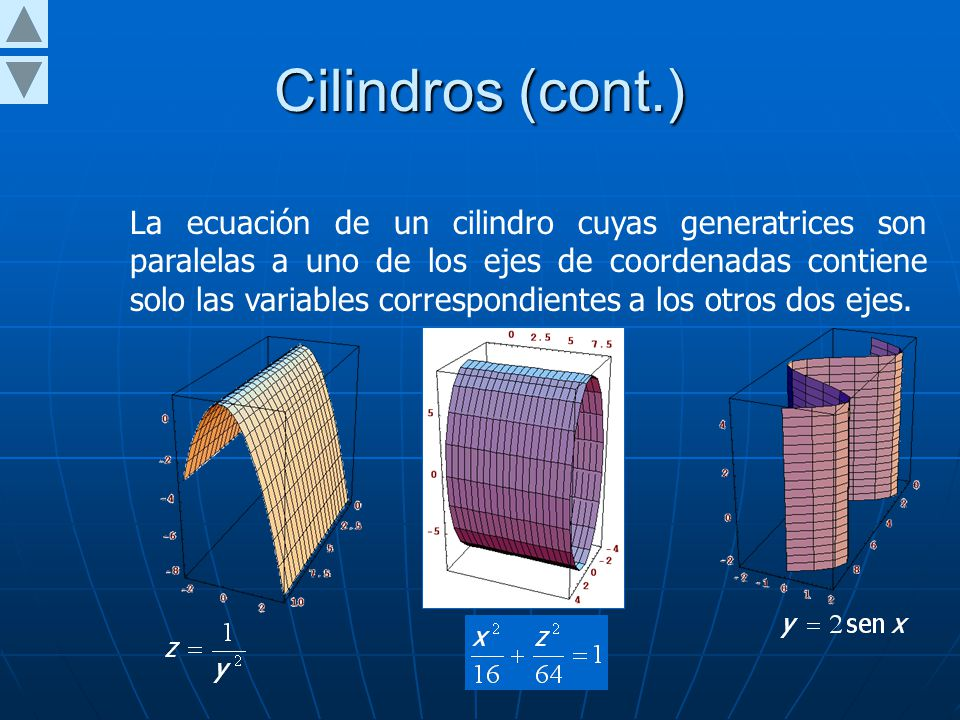 Cilindros (cont.)