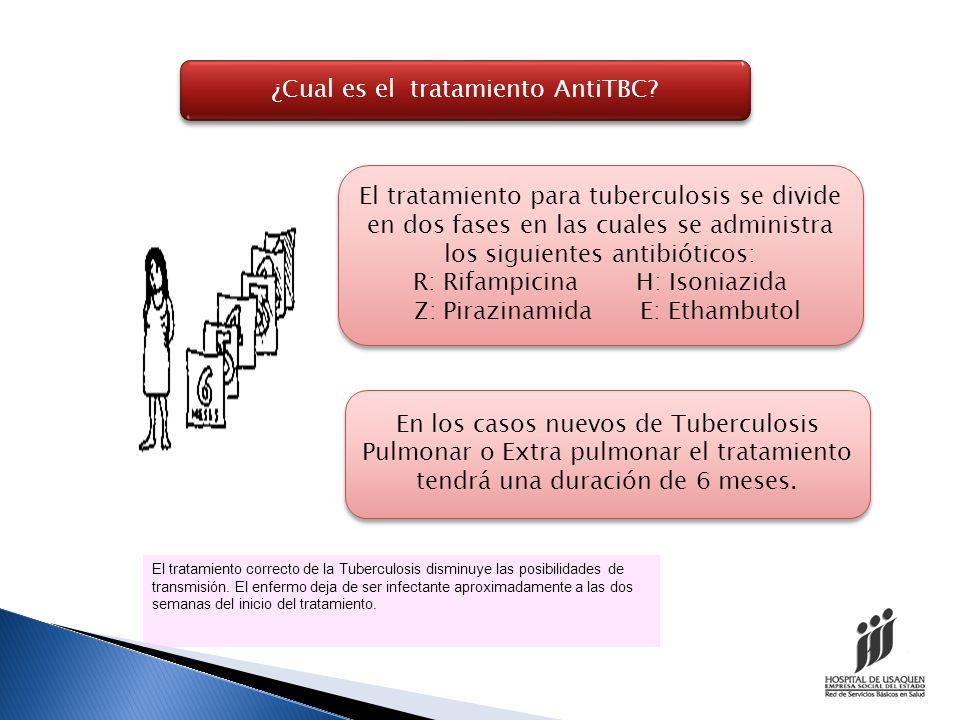 ¿Cual es el tratamiento AntiTBC