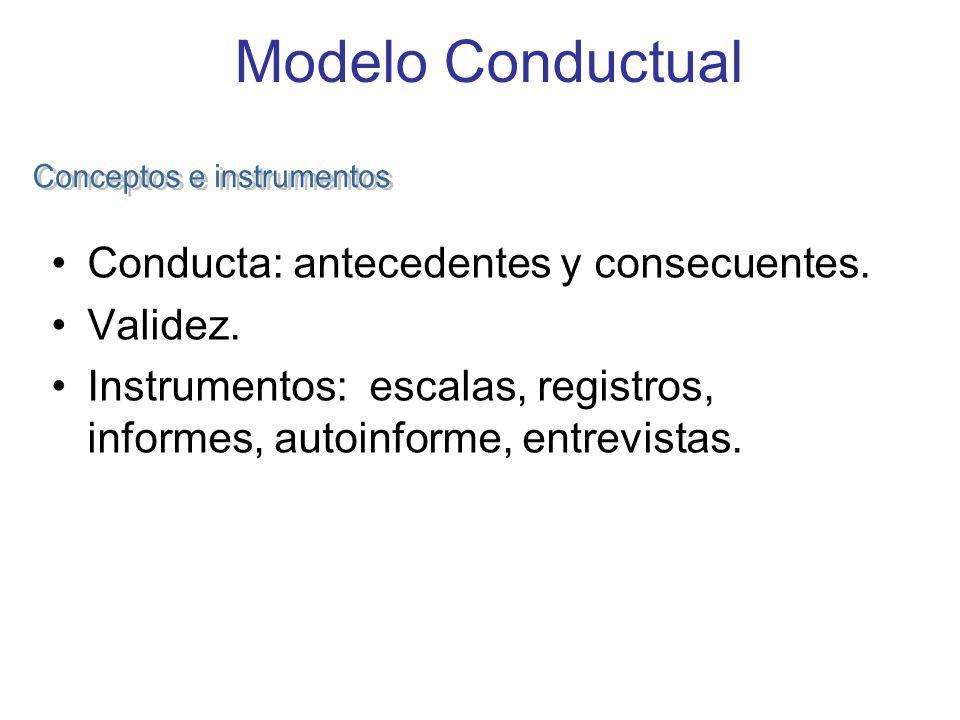 Conceptos e instrumentos