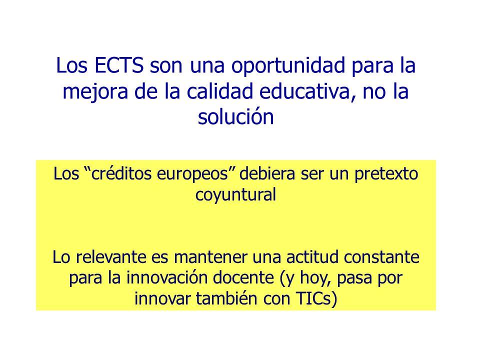 Los créditos europeos debiera ser un pretexto coyuntural
