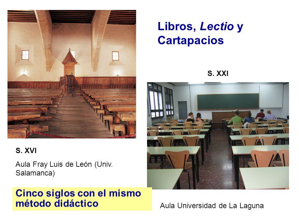Libros, Lectio y Cartapacios