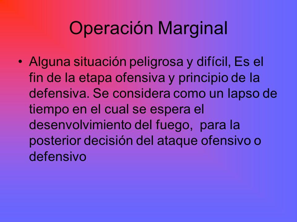 Operación Marginal