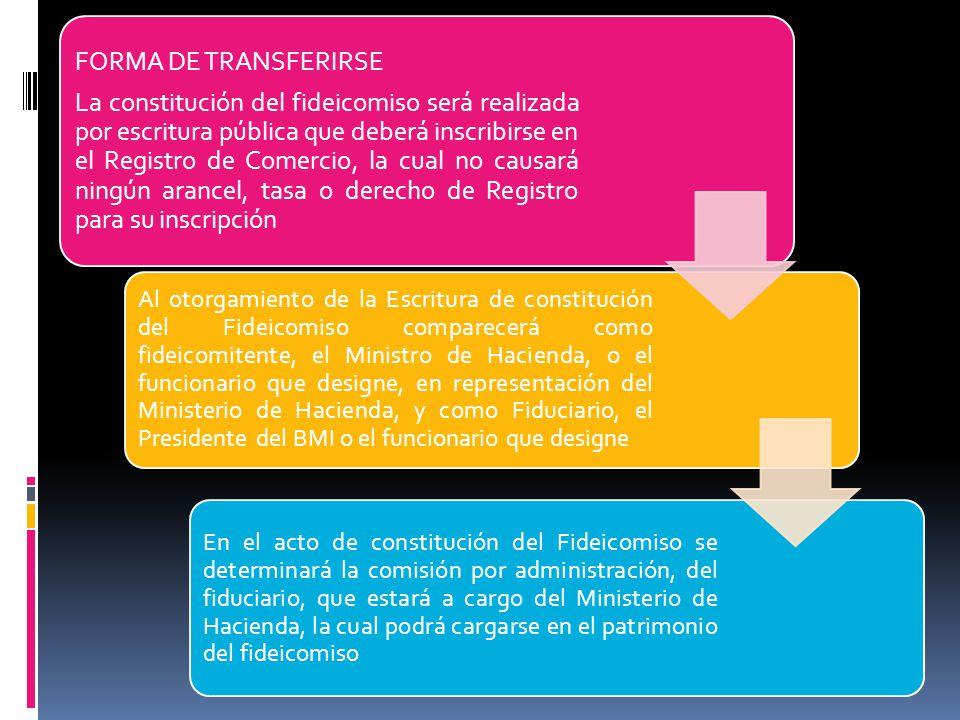 FORMA DE TRANSFERIRSE