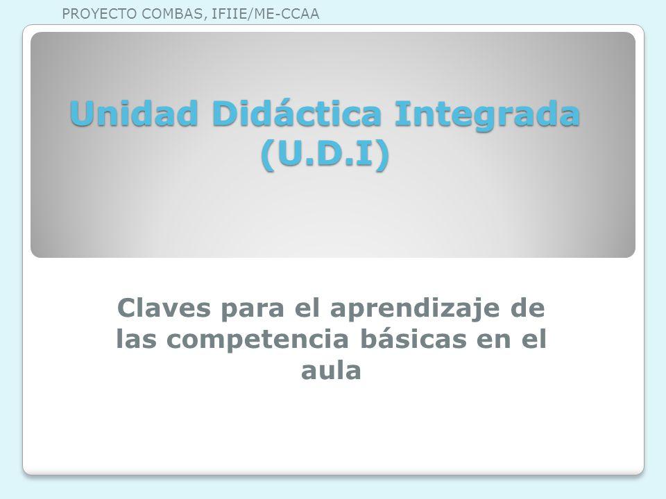 Unidad Didáctica Integrada (U.D.I)