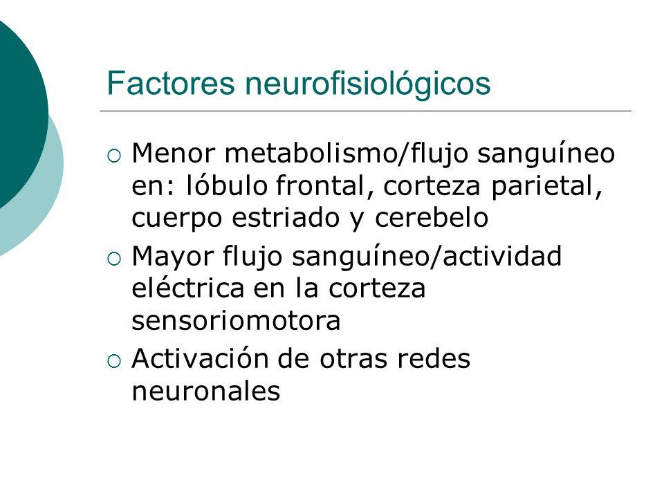 Factores neurofisiológicos