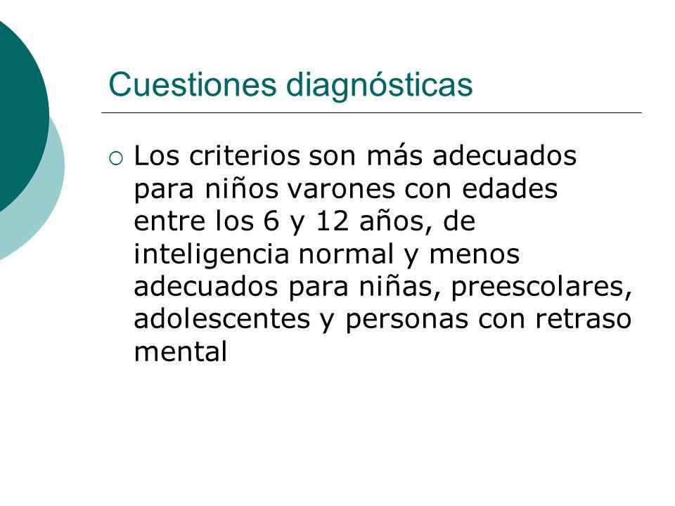 Cuestiones diagnósticas