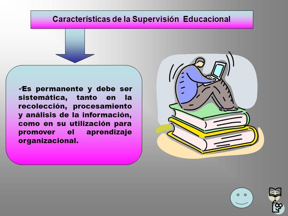 Características de la Supervisión Educacional