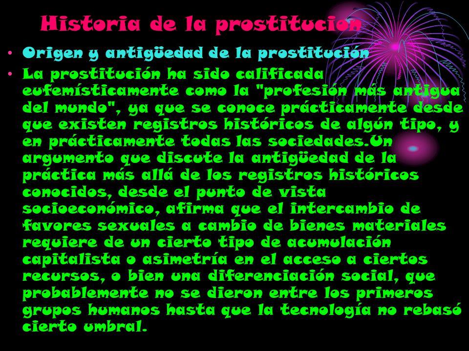 Historia de la prostitucion
